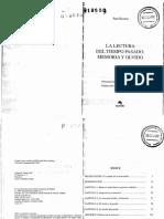 LA LECTURA DEL TIEMPO PASADO Ricoeur.pdf