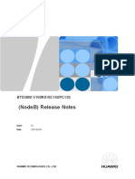 BTS3900 V100R010C10SPC120 (NodeB) Release Notes