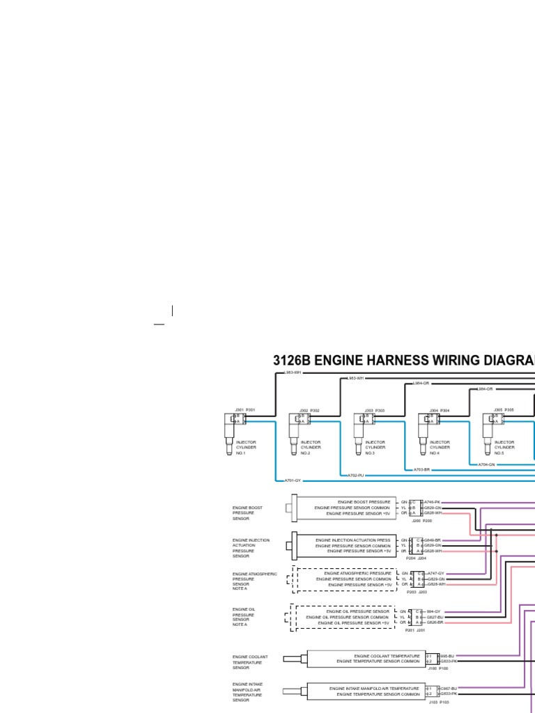 3126b Engine Harness Wiring Diagram