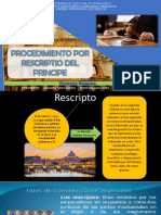 Procedimiento de Rescripto Del Principe_casii