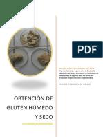 Cereales Gluten seco y humedo