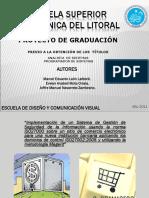 Proyecto de Graduación SGSI ESPOL