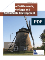 Traditional Settlements, Cultural Heritage and Sustainable Development