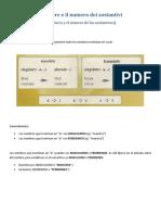 2) Il genere e il numero dei sostantivi.pdf
