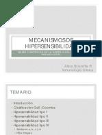 Mecanismos de Hipersensibilidad Dra. Sciaraffia