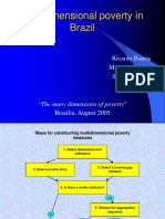 Multidimensional Poverty in Brazil