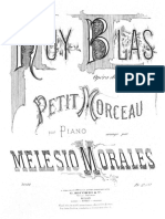 Melesio Morales a Ruy Morceau Ricordi