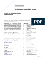 Some Aspects of Physical and Numerical Modeling of Water Hammer in Pipelines