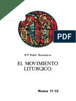 El Movimiento Liturgico Didier Bonneterre
