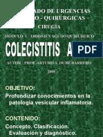 Colecistitis Aguda