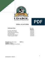 Trabajo de Investigación Oftalmologia