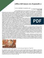 Reflexión Filosófica Del Maya en El Pasado y El Presente_Miguel Hernández Díaz