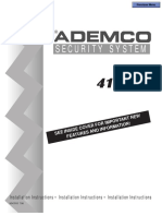 ADEMCO 4110XM Installation Manual