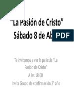 La Pasión de Cristo.pptx