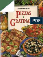 Pizzas y Gratinados - Anne Wilson