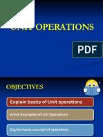 Basics of Unitopartaion