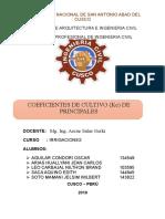 Kc de Cultivos Andinos Con Caratula