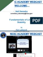 Linear Stability 091414