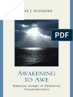 Kirk J. Schneider - Awakening to Awe_ Personal Stories of Profound Transformation (2009)