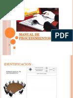 --Manual de Procedimientos-manual de Gestion de Calidad