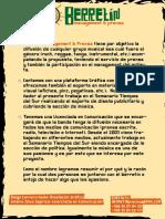 Presentacion Agencia de Prensa