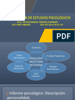 Integración de Estudios Psicológicos