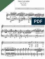Zigeunermelodien Op. 55, Dvorak