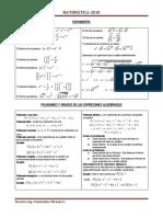 Matematica formulario