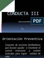 Conducta III Clase 2
