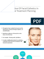 Perspective of Facial Esthetics in Dental Treatment Planning