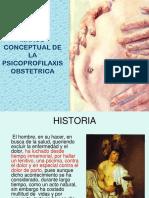Tema 1 Marco Conceptual de La Psicoprofilaxis Obstetrica