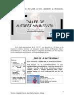 Taller de Autoestima Infantil. Proyecto Apice
