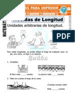 Ficha de Medidas de Longitud Para Segundo de Primaria