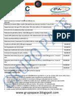 Contabilidad VIII, (Agricola), Material de Apoyo 1er Parcial 2016