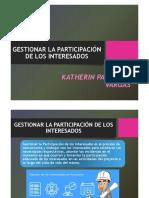 Gestionar La Participación de Los Interesados - Katherin Palomino Vargas