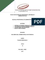 Act Plan de Negocios II
