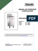 (Mo)Freidoras Vulcan Lg300-Lg400 (Esp)