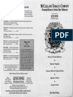 Brochure - Levin Pipes International - 1995