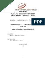 Sintesisi Art 12-28 Ley Igv