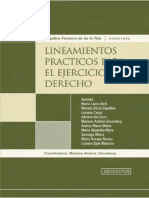 Lineamientos Prácticos Para El Ejercicio Del Derecho - Ferreyra de La Rúa, A