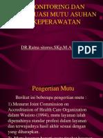 11.Monitoring Dan Evaluasi Mutu Asuhan Keperawatan