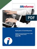 Manual de Actualización SRI DIMM - Formularios Windows 1.10