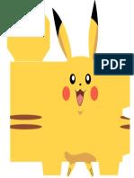 Caixa Pikachu