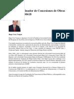 20180618_Nuevo Coordinador de Concesiones de Obras Publicas