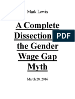 A Complete Dissection of the Gender Wage Gap Myth