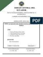 Ley Orgánica (LEY ORGANICA DEL SISTEMA DE CONTRATACIO PUBLICA)