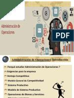 1.0 Administracion de Operaciones