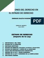 DA Zuleta Funciones Del Derecho en El Estado de Derecho 5 Junio 2014