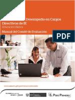 Manual de Evaluacion de Desempec3b1o a Directivos