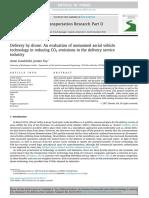 Drones en Evaluacion de Emision de CO2